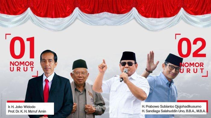 Hasil Pleno Pilpres 30 Provinsi, Jokowi Menang 55 Persen